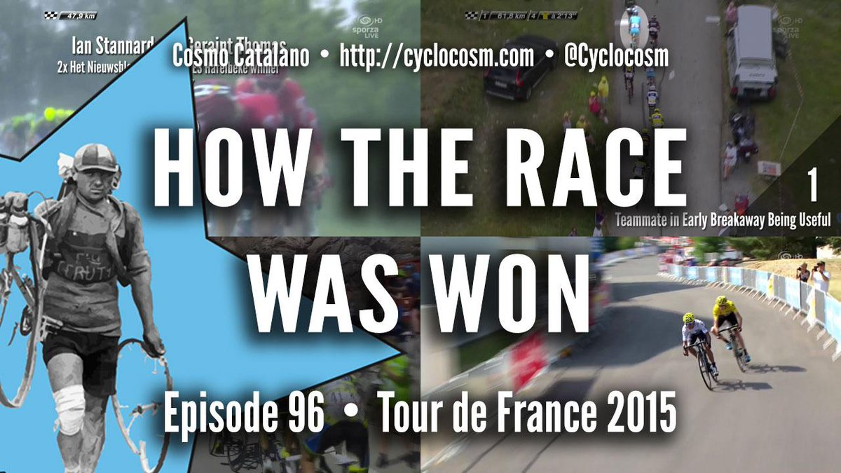 Forgotten #tdf2015 yet? No? Well, tough luck—here's #HTRWW anyway. http://t.co/6DxzFO0Wgn http://t.co/a83JKW979l