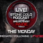 Are you ready for the return of #StoneColdPodcast LIVE THIS MONDAY on @WWENetwork with @RealPaigeWWE? @steveaustinBSR http://t.co/vkLhkTnBmL