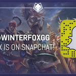 Were on Snapchat! Come join us as we go see #AllWorkAllPlay! Hold your Snapchat up to this image or add Winterfoxgg! http://t.co/UqW0eidJvO