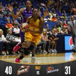 Halftime: Shock 40 Mercury 31. @Lucky_Lefty0 leads all players with 13pts!  #ShockTulsa http://t.co/PkezzZKfeH