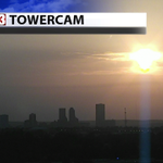 The sun setting on T-town :-) #FOX23 #Towercam #Tulsa #okwx http://t.co/Pt4s5qFXga