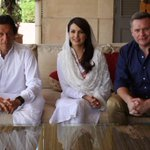 Been travelling with Pakistans power couple Imran & Reham Khan. Can the cricket legend become PM? @60Mins #60Mins http://t.co/ykexVqp9j0