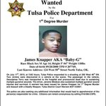 So the Tulsa Police Department has a first-degree murder warrant for someone born in 2000 :( http://t.co/fABEHlUlQt