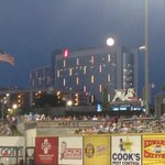 #BlueMoon seen from Regions Field @BhamBarons @ChildrensAL @MarkPrater #alwx #bham #stormtrack42 http://t.co/XkXeVyMium