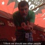 A snapchat of a snapchat joke #WarpedComedy http://t.co/conRxRv82Q