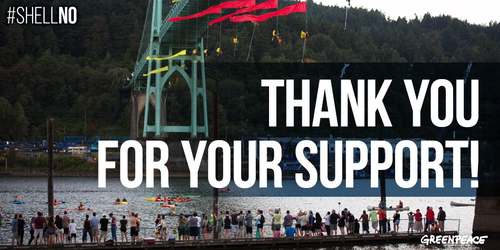 RT @Greenpeace: Inspired by this week's #ShellNo blockade? You can speak up to #SaveTheArctic too! http://t.co/VzZaTLR0AR http://t.co/leYsX…