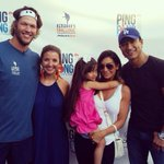 The Lopez & The Kershaws! About to battle it out for charity @Dodgers #PingPong4Purpose #KershawsChallenge #LA http://t.co/iWw8AlAeyr