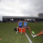 #Messi @Mascherano @Neymarjr & @DaniAlvesD2 first training session in pictures http://t.co/qvRjqvXK1X http://t.co/6hl5l7roqE