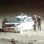 #MariaElena ⚠️🚒 22:30 Volcamiento de Vehiculo en Ruta-5 km 1599.  4 lesionados  Mas info: http://t.co/eviMv89cAz http://t.co/dFJCnNdoal