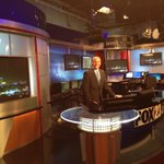 Hes still standing and smiling.. @MichaelSeger is filling in for @jamesaydelott .. @FOX23 at 10 is past his bed time http://t.co/cXM7NkCjTX