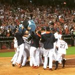 #WALKOFF. The scene at home plate after @J_Castro15s 3-run bomb to sweep the Angels. #Astros http://t.co/e0DFfVCOK9