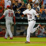 Walk it off, Jason Castro! Astros C hits 3-run HR in bottom of the 9th as Houston sweeps Angels, 3-0. http://t.co/ZnwFTYpgDi