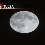 Theres an (almost) full moon over Tulsa tonight! I hope that its shining on you! #okwx @NewsOn6 http://t.co/KBiwkNPiH8