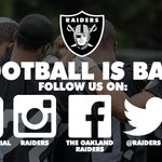 Dont miss out on any #RaidersCamp15 coverage! Follow all official Raiders platforms for inside looks, news and more: http://t.co/7PDvcV2o4p