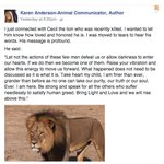 We've reached peak #CecilTheLion — animal psychic says she spoke to the dead cat: http://t.co/Q4bvcjZXjk http://t.co/qAuH5Ztk9d