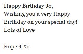 Here's Rupert's birthday message to @jk_rowling! #HappyBirthdayJKRowling http://t.co/7RS0cZ7rso http://t.co/oMVxcW2n9L