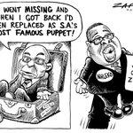 #Zapiro: The famous puppet... http://t.co/qaZAeFkCTi http://t.co/5QMe76QmYE