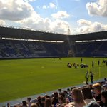 Just arrived @ReadingFC open day , Luke @SolentWholesale . Theatre of dreams #mytownmyclub http://t.co/XuqJxcpGW7
