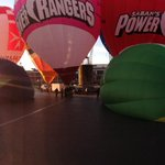 Were having a great morning today! The Balloon Fiesta warm up at the Amphitheatre is happening right now! http://t.co/koKXvB38ia