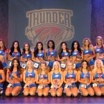 Heres your 2015-2016 Thunder Girls. The Thunder just sent this team photo out. http://t.co/KHw5rkfdDc