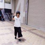 大阪最高だったな〜💯みんなありがとう。 マジで言葉になんない。 写真はLIVE開始直前の藤原さん⚡️イェーイ✌🏻️ http://t.co/AGOy9f7klP
