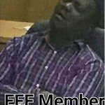 """#EFF MP """"I think my president might have been misled. I was not sleeping during the session."""" http://t.co/gd6FYSgosr http://t.co/jCXPg2ceDZ"""