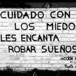 #felizviernes La socialización del miedo obstaculiza el progreso humano. Seamos valientes y no tengamos miedo. #FF http://t.co/npCXzywnUf