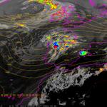 Hoy chubascos y tormentas localmente fuertes en NE y zonas del N y E peninsular. Avisos: http://t.co/ALPYQVKKbJ http://t.co/WdFdJFNGlP