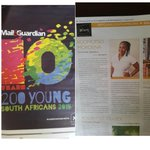 Grab a copy of the @mailandguardian today to check me out and 199 awesome young people! #SpreadLuv #OnlyGodsGrace http://t.co/rWI4I1HBvw