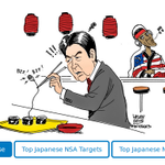 """RELEASE: """"Target Tokyo"""": #NSA spied on Japanese PM and major corps such as #Mitsubishi https://t.co/2SobMKvbYo #Japan http://t.co/puHp9t0l9c"""