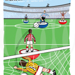 New Subbuteo art Wembley take over #Sheffield Derby 93 available at http://t.co/ZwBlVaU89o #wawaw #sheffieldissuper http://t.co/wE1cPkTqQZ