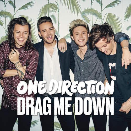 SURPRISE! @onedirection just dropped their brand new single #DragMeDown!