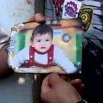 مقتل طفل فلسطيني حرقًا على يد مستوطنين http://t.co/wObcqUe5fh  علي سعد دوابشة  #Zionists_Burn_Infants http://t.co/OctnwUx1BF