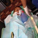 Today: Palestinian baby burned to death after Israeli settlers set his family home on fire. http://t.co/J9ggR6VoVX http://t.co/dtmYsJeLEH