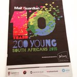 Congratulations to everyone who made the @mailandguardian 200 Young South Africans 2015 list #MG200Young http://t.co/NK2Xw9Hj9w