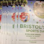 Its tomorrow!! #BrisSportsDay #Bristol #CollegeGreen http://t.co/UjpSKS6KVz