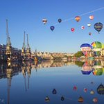 Beautiful #photo Jon @bristol_jj  Captures spirit of #Bristol on this glorious morning! @bristolballoon #Bristol2015 http://t.co/zEQH4dyXvB