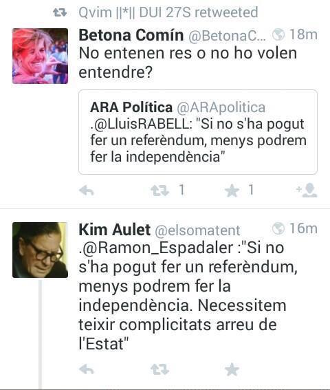 Què fort. @LluisRABELL i @Ramon_Espadaler dient exactement el mateix. #NOSHAPOGUTFER via @Marpalau http://t.co/sT9YMFTDip