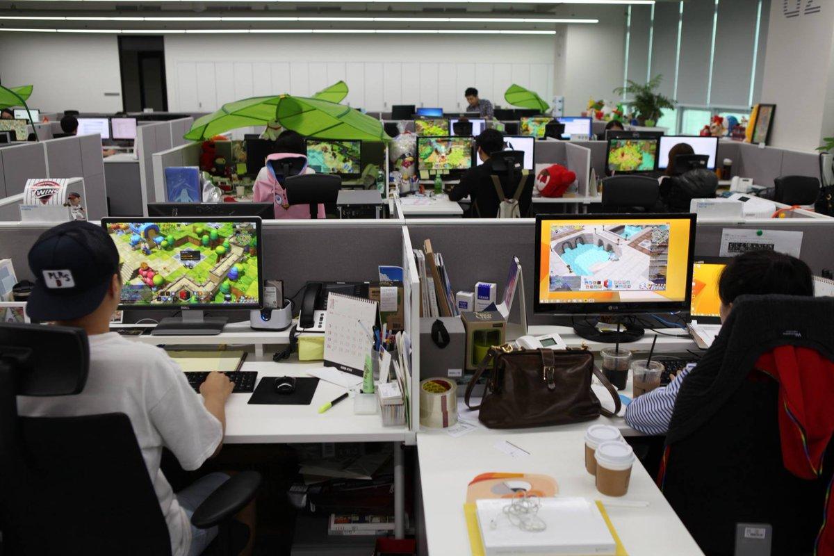 메이플스토리2 만렙 확장 후 현재상황.jpg  회사야 PC방이야^.^.... http://t.co/e60GfLE09s