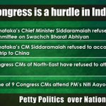 #जन_विरोधी_कांग्रेस is the biggest hurdle in Indias progress http://t.co/FgAjfbLwiO