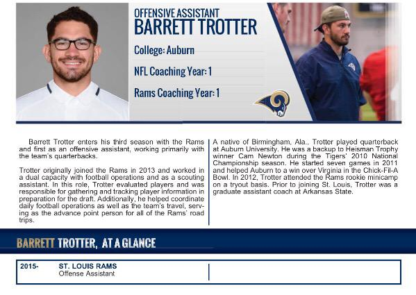 I don't remember a time in my life not being part of a football team but this year will be my first as an NFL Coach http://t.co/Ni3heVoTR3