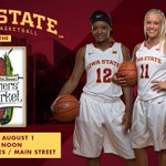 We will be at the Ames farmers market tomorrow! Stop by and see us, shoot some hoops and win prizes! #Cyclones http://t.co/soqNcXqK0z