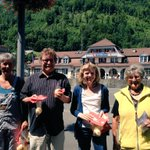 1.-Augustaktion der @spkantonbern in Interlaken: Für eine Schweiz für alle statt für wenige: http://t.co/PLLCM8V93s