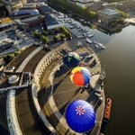 Hot-air balloons take to Bristol skies ahead of fiesta http://t.co/1LUOgErBTR http://t.co/9GMAMxCp5z