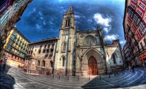 El patrón de Bizkaia,San Ignacio de Loiola. ¿Y el de #Bilbao? #CascoViejo http://t.co/bVlZEZyqmr