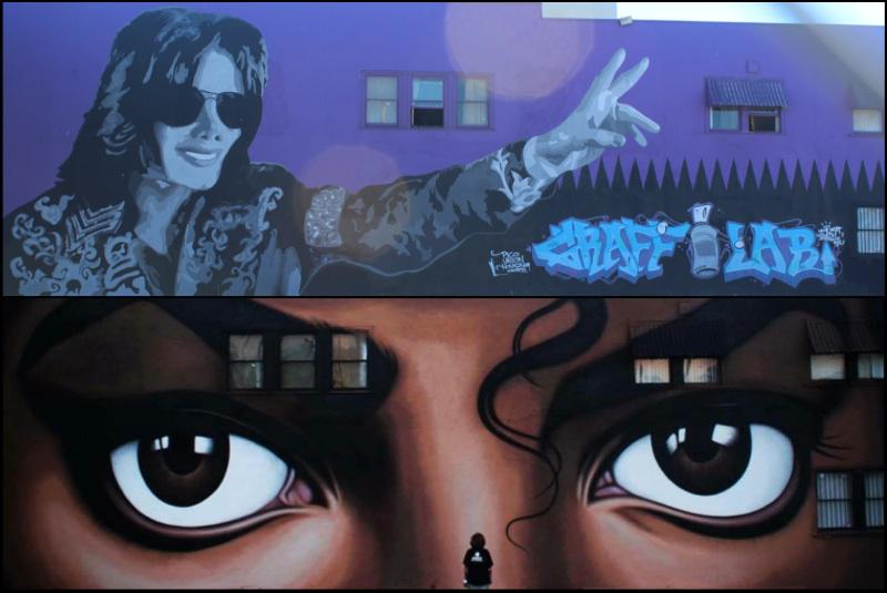 The new L.A. mural is completed ! http://t.co/VOHnEBp9of