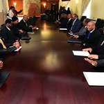 Deputy President Ramaphosa meeting with Prime Minister Mosisili and Leaders of the Coalition government http://t.co/W1zIPyTWWl