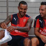 Congratulations to @19SCazorla and @theowalcott on their new @Arsenal contracts! Full story: http://t.co/gJGvjapVm1 http://t.co/D194n25esu