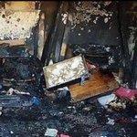منزل عائلة #علي_دوابشة #احرقوا_الرضيع #علي_دوابشة_أحرق_حيا #فلسطين http://t.co/DhQq7CrE9Y