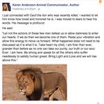 This animal psychic said she spoke to Cecil the lion. Um... http://t.co/FD5em9bLNk http://t.co/SP48nbbJRr